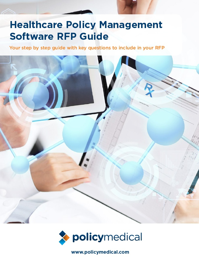 Healthcare Policy Management Software RFP Guide